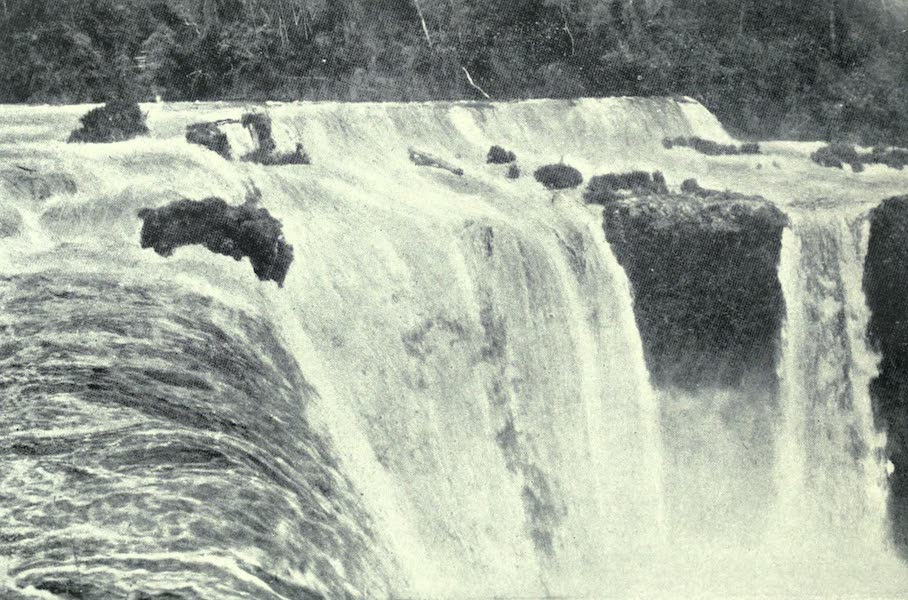 Paraguay by Henry Koebel - Guayra Falls (1917)