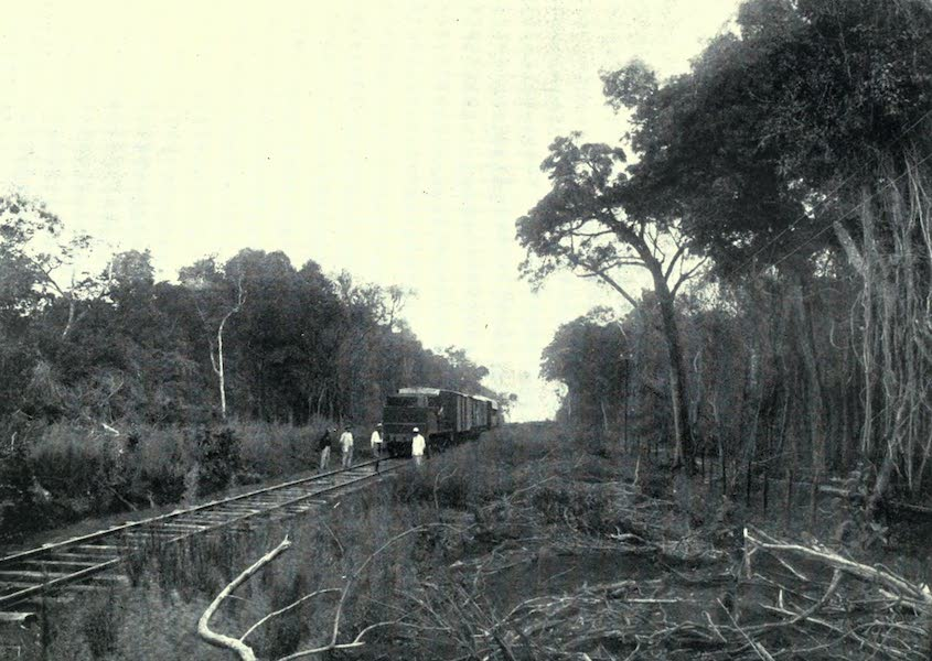 Paraguay by Henry Koebel - Scene on the Line to Paraguay (1917)