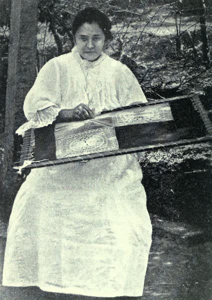 Paraguay by Henry Koebel - Weaving Sanduti (1917)