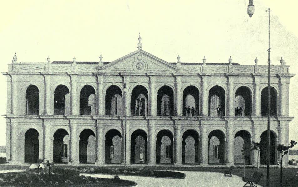 Paraguay by Henry Koebel - House of Congress, Asuncion (1917)