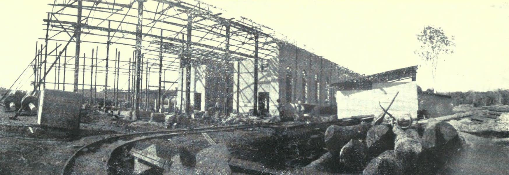 Paraguay by Henry Koebel - A Quebracho Factory [I] (1917)