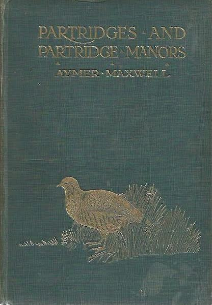 Partridges and Partridge Manors - Front Cover (1911)