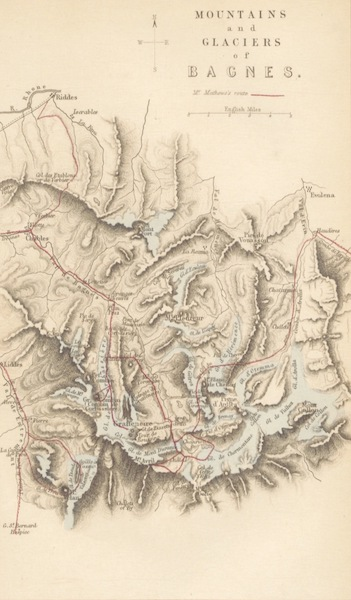 Peaks, Passes and Glaciers - Mountains and Glaciers of Baines (1859)