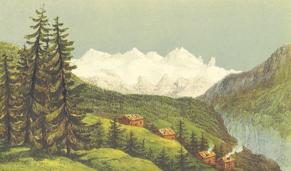 Peaks, Passes and Glaciers - View from the Chalet de Villard (1859)