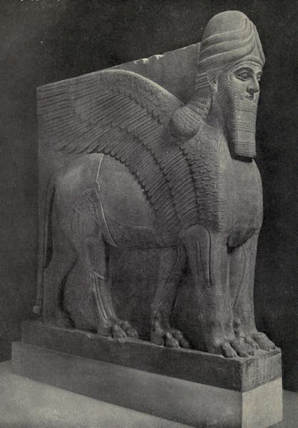 Peeps at Many Lands: Ancient Assyria - Winged Man-Headed Lion (1916)