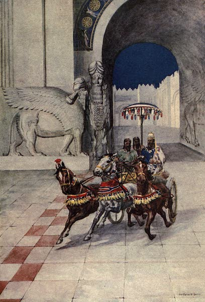 Peeps at Many Lands: Ancient Assyria - The King Goes Hunting (1916)