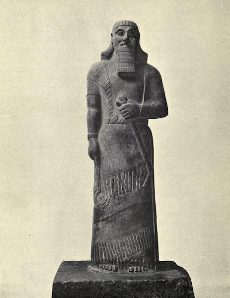 Peeps at Many Lands: Ancient Assyria - Statue of Ashur-Natsir-Pal III (1916)