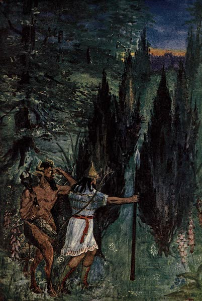 Peeps at Many Lands: Ancient Assyria - The Heroes Come to Khumbaba's Castle (1916)