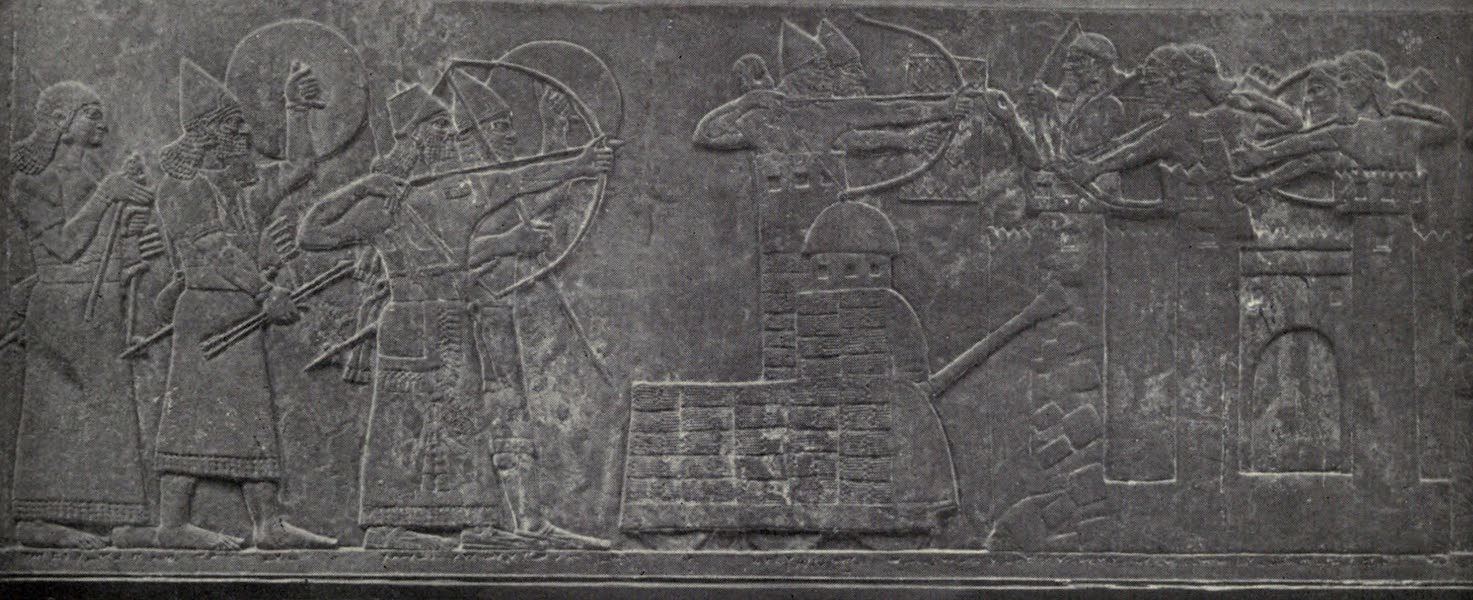 Peeps at Many Lands: Ancient Assyria - The Battering Ram in Action (1916)