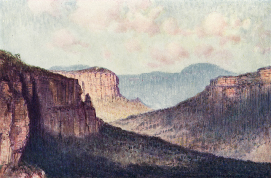 Peeps at Many Lands: Australia - The Barrier of the Blue Mountains (1911)