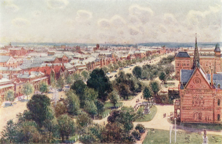 Peeps at Many Lands: Australia - The Garden Streets of Adelaide (1911)