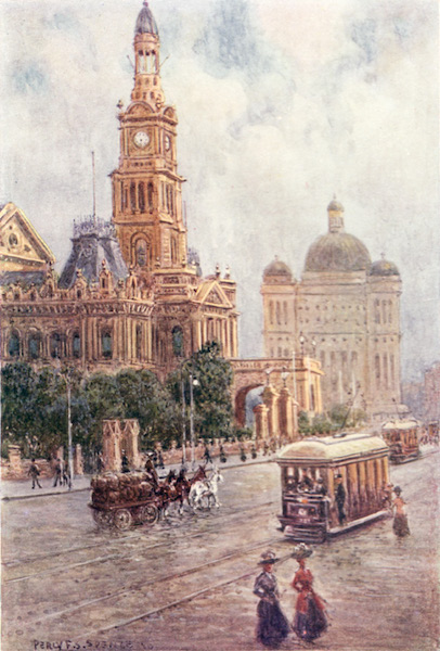 Peeps at Many Lands: Australia - The Town Hall, Sydney (1911)