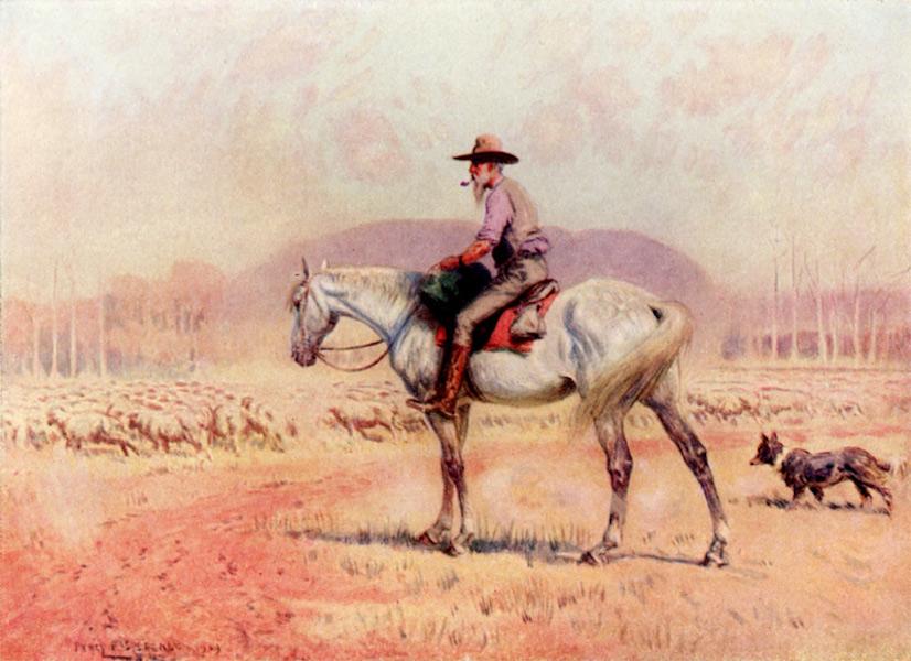 Peeps at Many Lands: Australia - A Sheep Drover (1911)