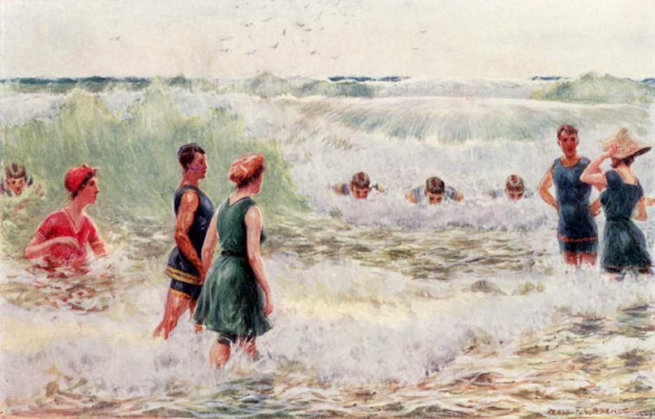 Peeps at Many Lands: Australia - Surf-bathing-shooting the Breakers (1911)