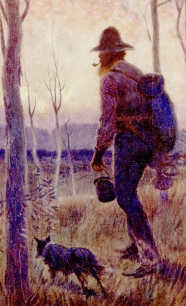 Peeps at Many Lands: Australia - The Nomad of the Australian Interior (1911)