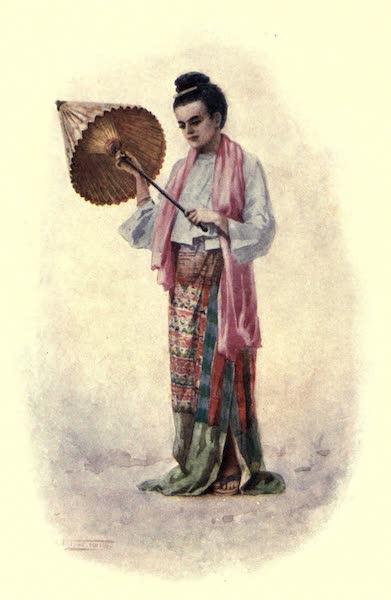 "Peeps at Many Lands: Burma - ""A Daintily-Clad Burmese Lady"" (1908)"