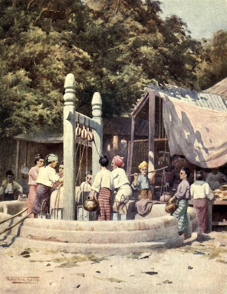 Peeps at Many Lands: Burma - At the Well (1908)