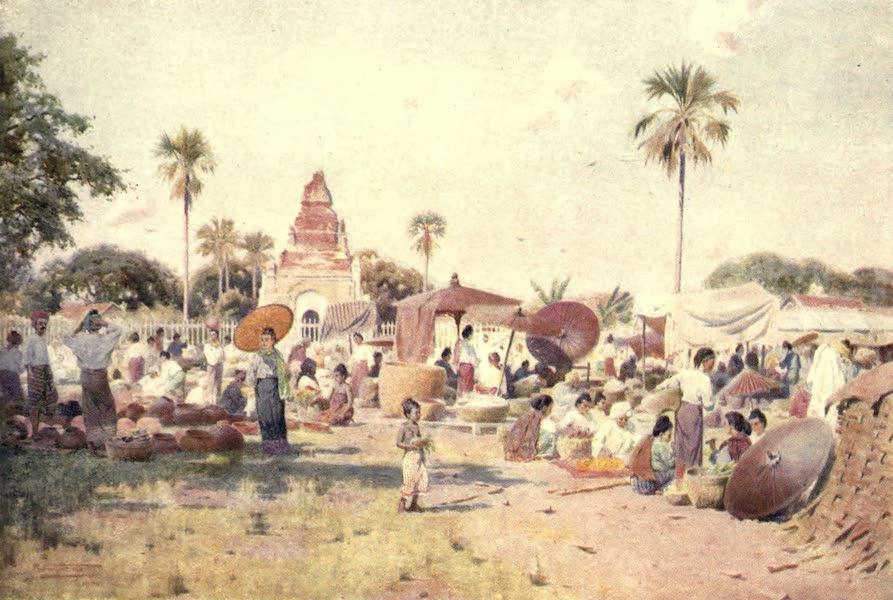 Peeps at Many Lands: Burma - The Market-Place (1908)