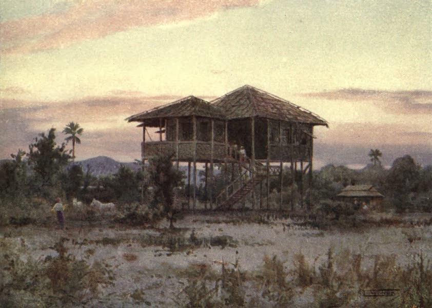 Peeps at Many Lands: Burma - A Dak Bungalow (1908)
