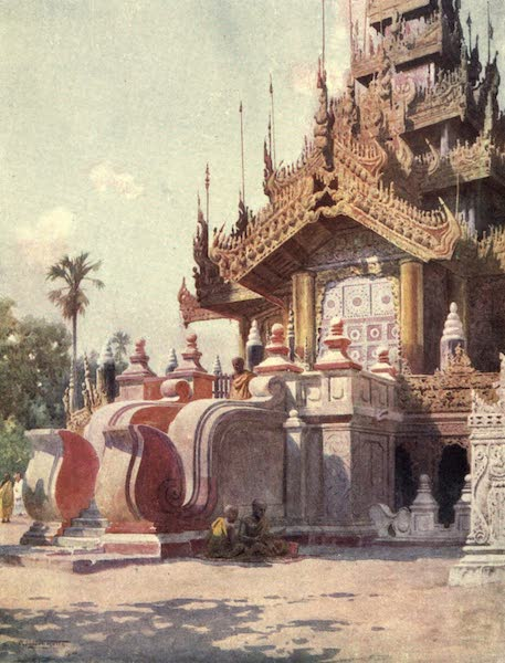 Peeps at Many Lands: Burma - The Queen's Golden Monastery, Mandalay (1908)