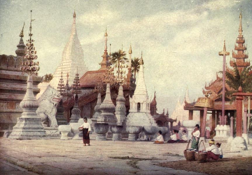 Peeps at Many Lands: Burma - The Shwe Zigon Pagoda, Pagan (1908)