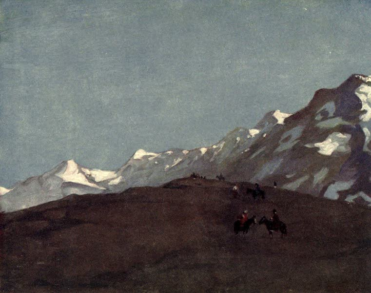 Peeps at Many Lands: South America - The Snow-Clad Andes (1915)