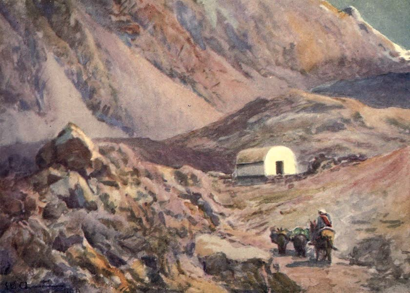 Peeps at Many Lands: South America - Old Refuge Hut in the Andes (1915)