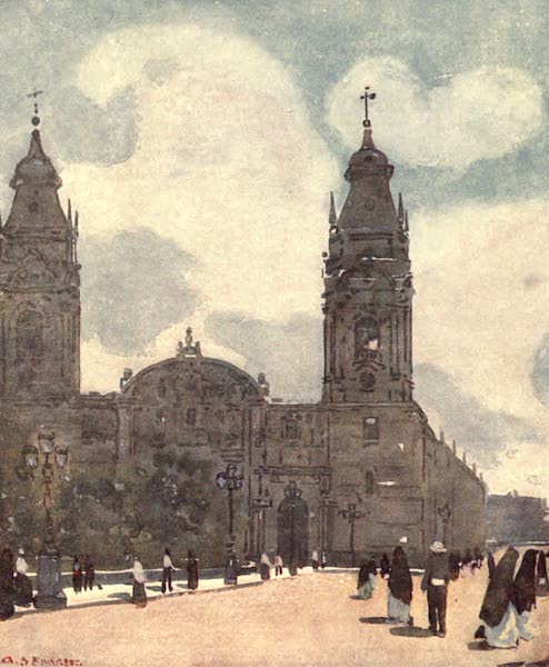 Peeps at Many Lands: South America - The Cathedral, Lima (1915)