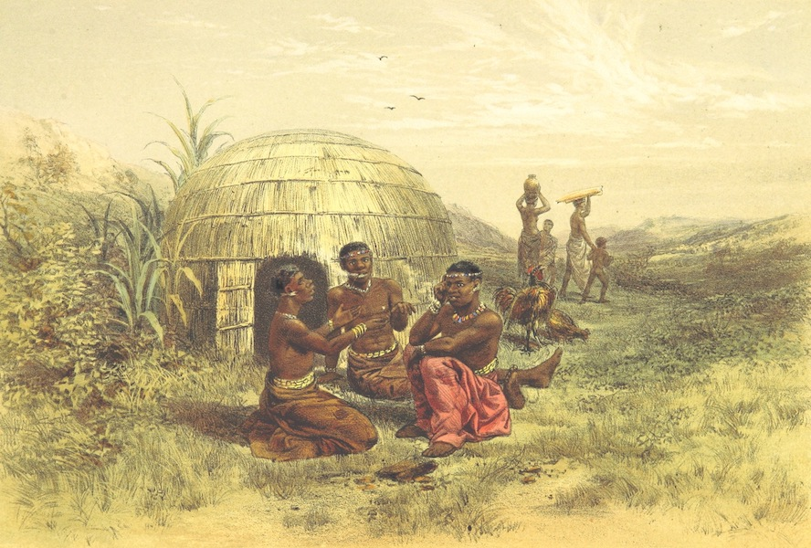 Pen and Pencil Reminiscences of a Campaign in South Africa - Gaikas (Sandillas Tribe) (1861)