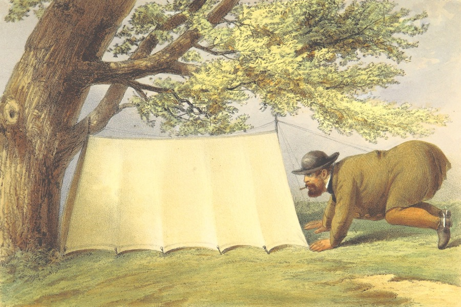 Pen and Pencil Reminiscences of a Campaign in South Africa - The Patrol Tent (1861)