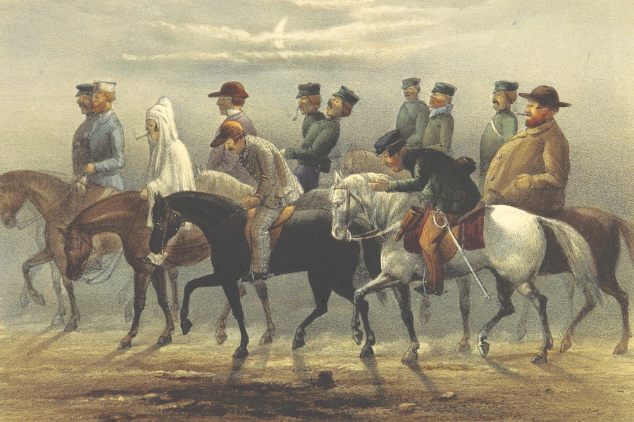 Pen and Pencil Reminiscences of a Campaign in South Africa - We're All A Nodding (1861)