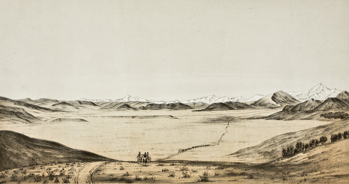 Pencil Sketches of Colorado - South Park (1866)