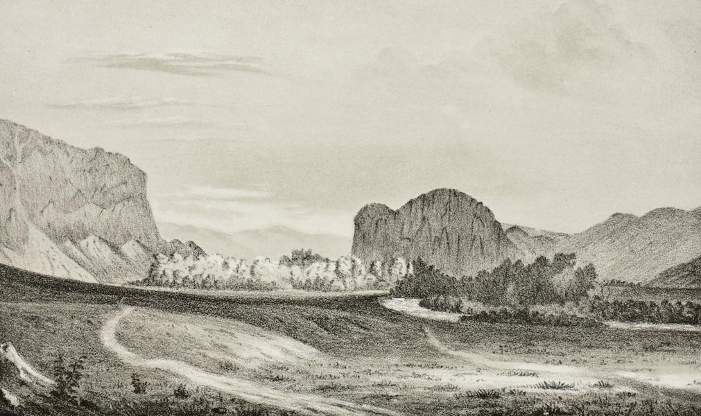 Pencil Sketches of Montana - Beaver Head Rock (1868)