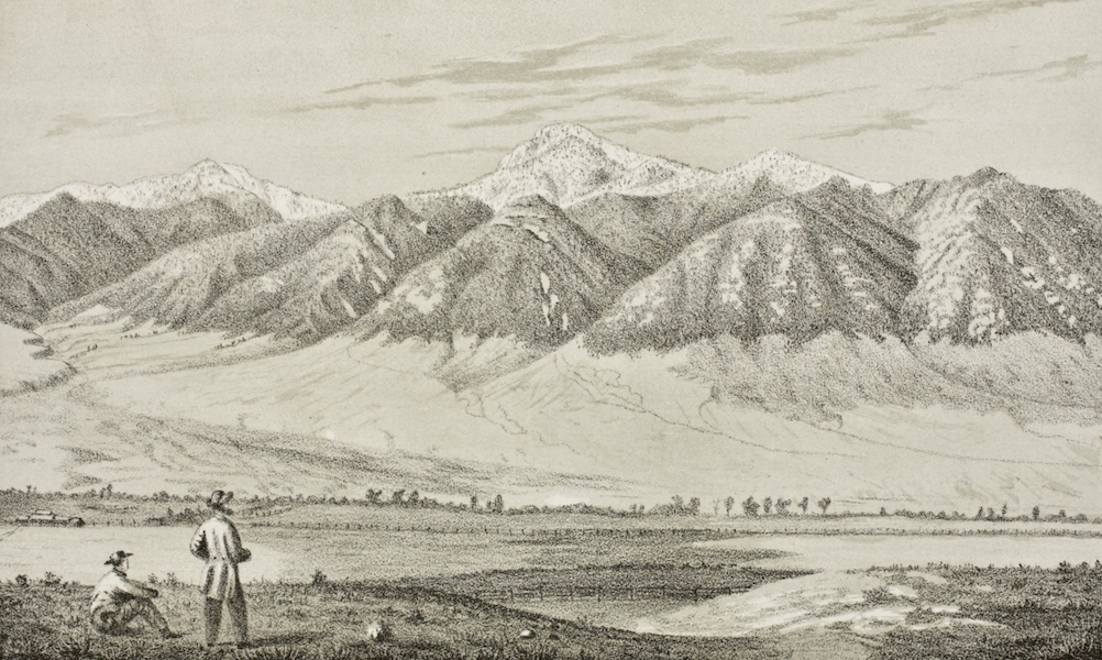 Pencil Sketches of Montana - In the Stinking Water Valley (1868)