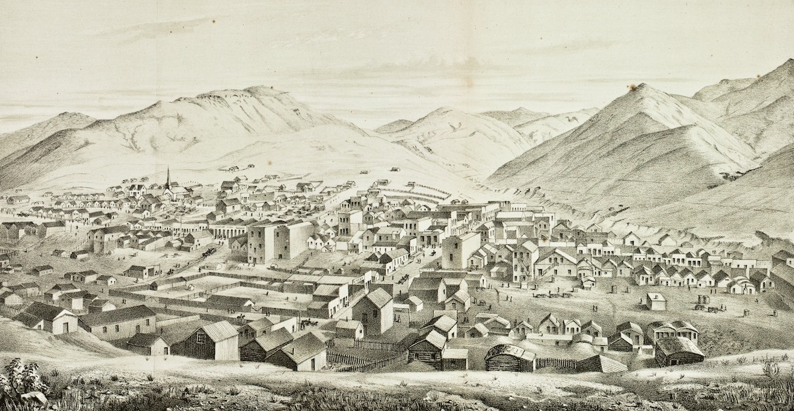 Pencil Sketches of Montana - Virginia City (1868)
