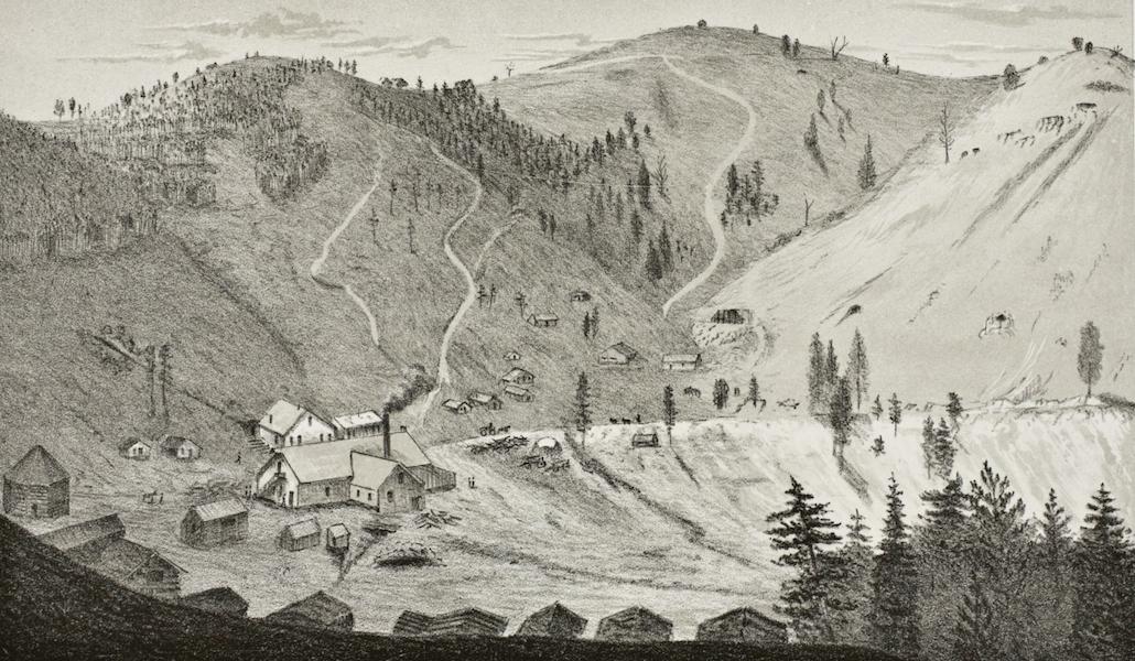 Pencil Sketches of Montana - Union City (1868)