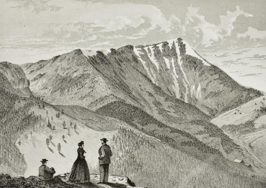Pencil Sketches of Montana - Bald Mountain (1868)