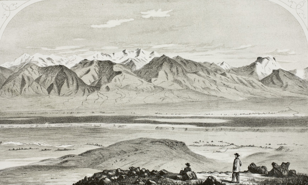 Pencil Sketches of Montana - In the Madison Valley (1868)