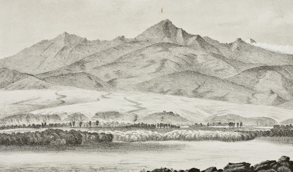 Pencil Sketches of Montana - In the Yellowstone Valley (1868)