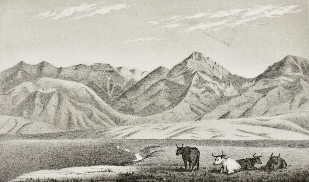 Pencil Sketches of Montana - In the Gallatin Valley (1868)