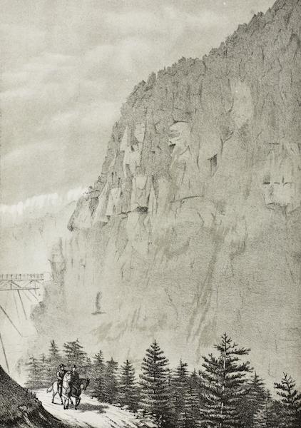 Pencil Sketches of Montana - Bear Tooth Mountain (1868)