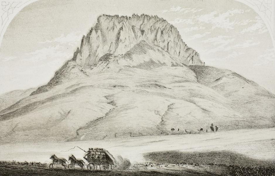 Pencil Sketches of Montana - Bird Tail Mountain [II] (1868)