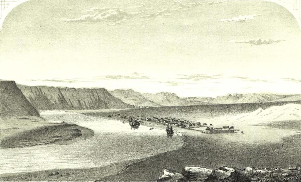 Pencil Sketches of Montana - Fort Benton (1868)