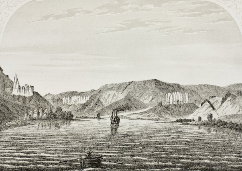 Pencil Sketches of Montana - The Church Castle and Fortress (1868)