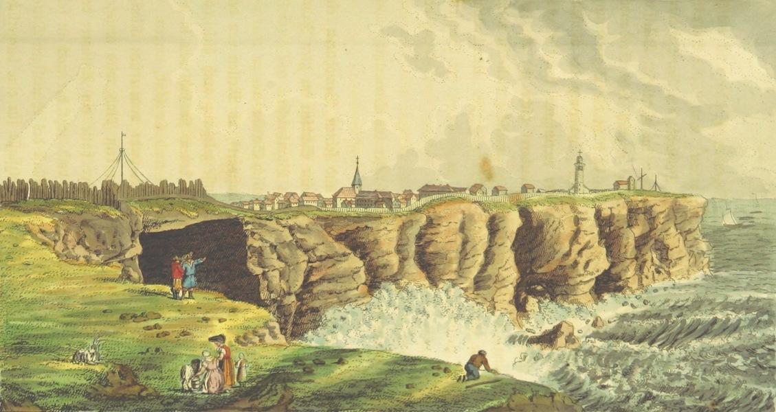 Philosophisch-historisch-geographische Untersuchungen uber die Insel Helgoland - Ansicht von Helgoland (1826)