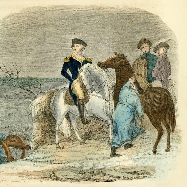 Pictorial Life of George Washington - Washington Crossing the Delaware (1845)