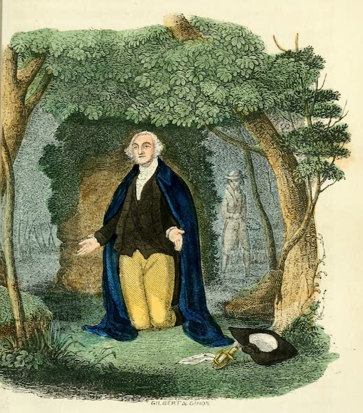 Pictorial Life of George Washington - Washington at Valley Forge (1845)