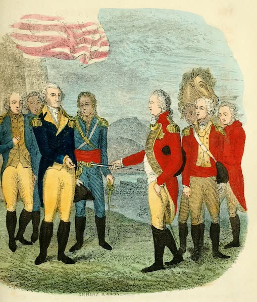 Pictorial Life of George Washington - Surrender of Cornwallis (1845)