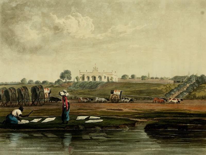 Picturesque Buenos Ayres & Monte Video - A Quinta (Farm) (1820)
