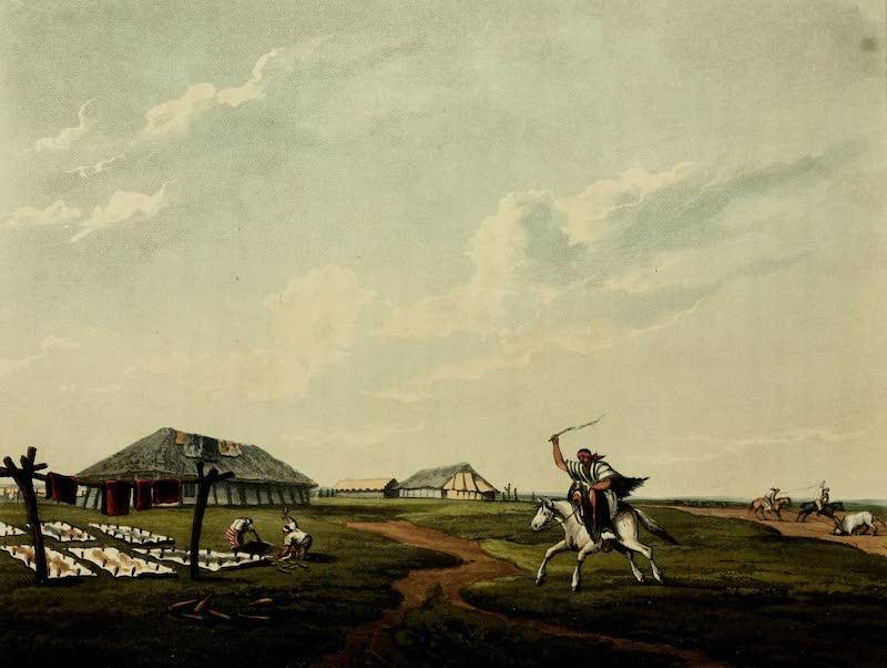 Picturesque Buenos Ayres & Monte Video - Estantia Farm on the River San Pedro (1820)